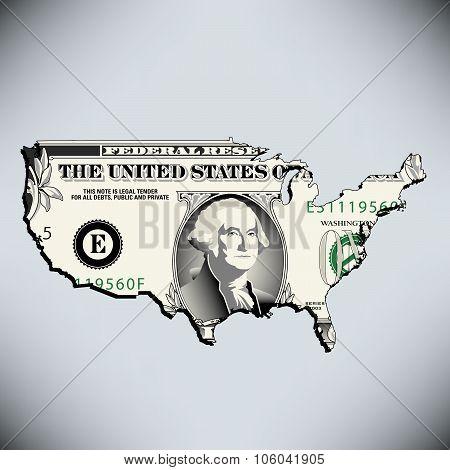 One American Dollar