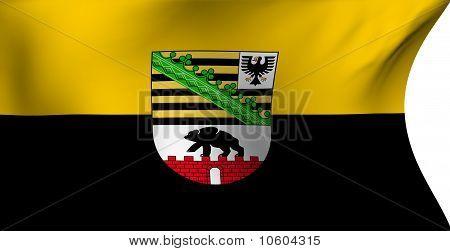 Flag Of Saxony-anhalt, Germany