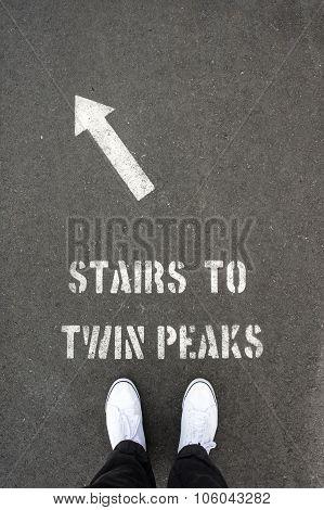 Stairs To Tween Peaks