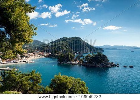 Bay In Greece