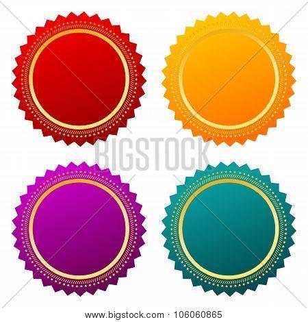 Color labels set