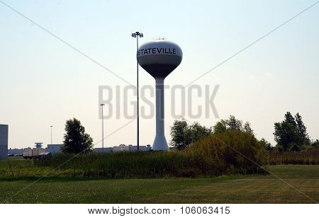 Stateville Water Tower