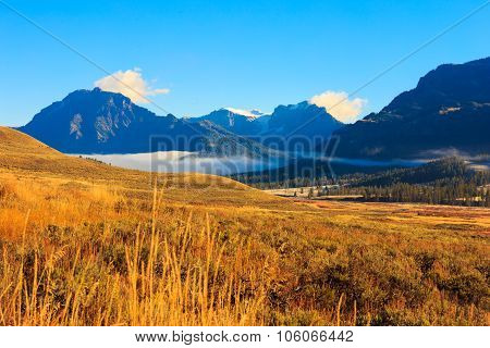Mountain Landscape .