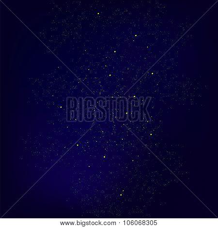 Set of Yellow Stars