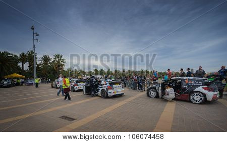 WRC Cars  Salou , Spain