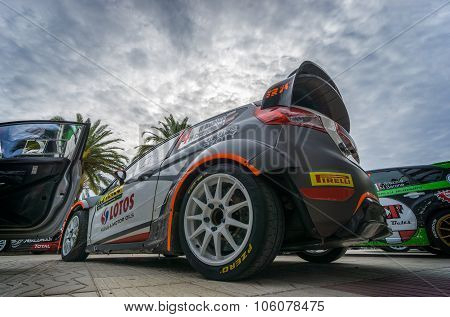 WRC Car , Salou ,Spain