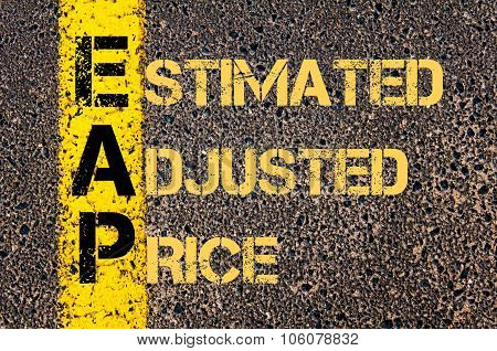 Business Acronym Eap As Estimated Adjusted Price