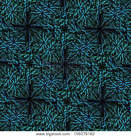 Dark Modern Baroque Seamless Pattern