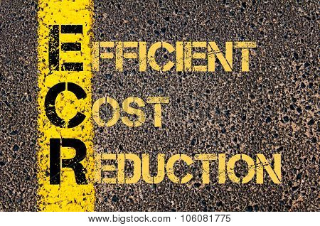 Business Acronym Ecr As Efficent Cost Reduction