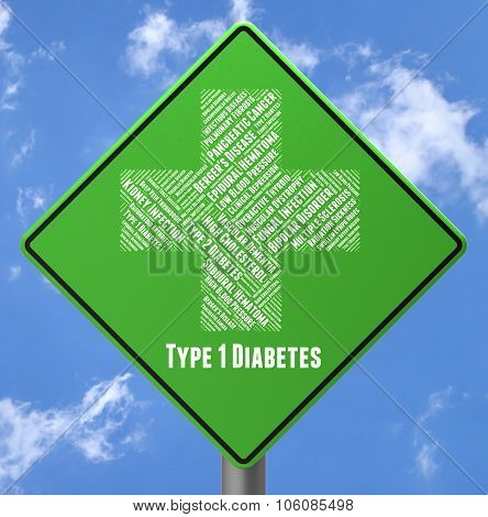 Diabetes Illness Means Poor Health And Afflictions