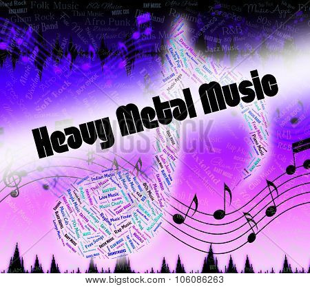 Heavy Metal Music Shows Led
