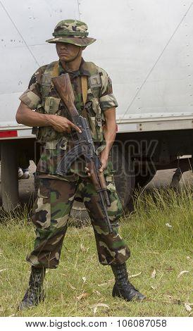 Nicaraguan Soldier