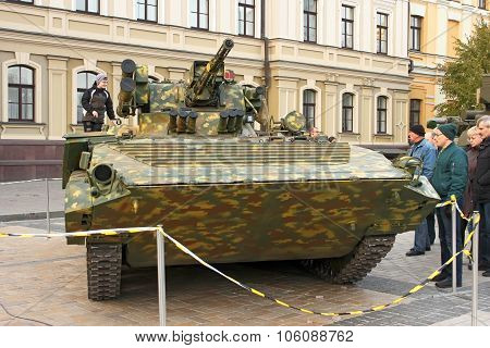 Exhibition Of Military Equipment In Kyiv