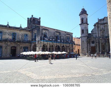 San Cristobal In Cathedral Square