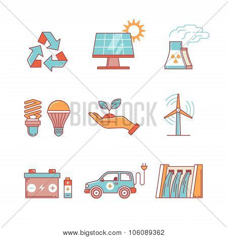 Power generation and ecologic energy