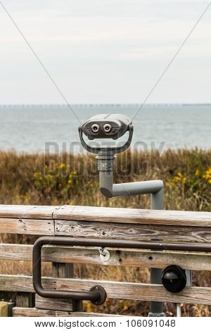 Sightseeing Binoculars at First Landing State Park