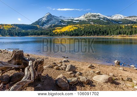 Autumn On Lost Lake In The Colorado Rocky Mountains