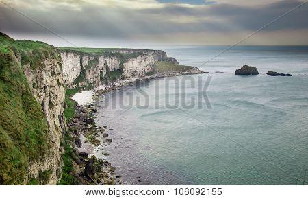Carrickarede Coast Of Ireland