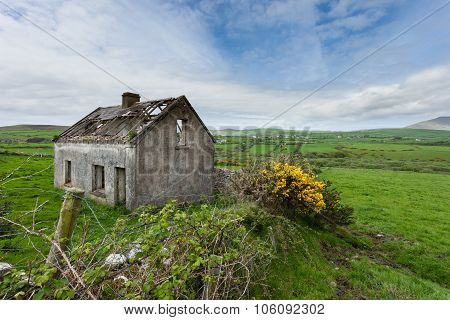 Dingle Cottage Ruins, County Kerry, Ireland