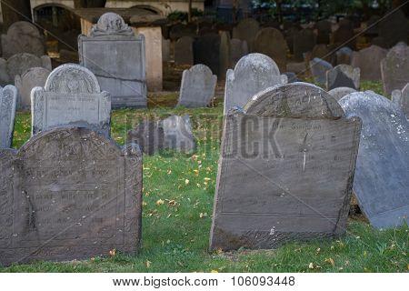 Kings Chapel Burying Ground - Boston, MA