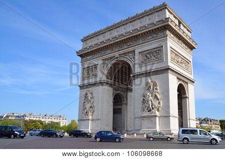 The Triumphal Arch de l Etoile