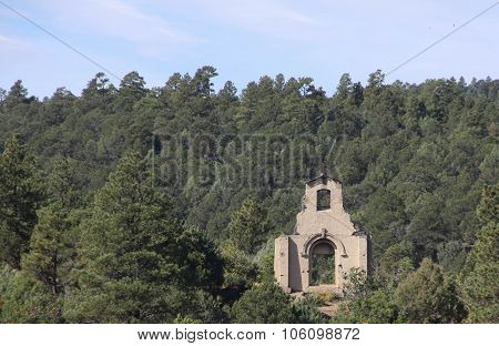 Abandoned Church on Mountainside