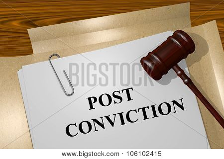 Post Conviction Concept