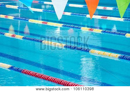 Swimming Pool Lanes