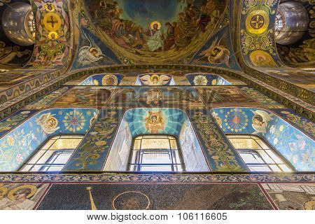 Church Of The Savior On Spilled Blood (cathedral Of Resurrection)