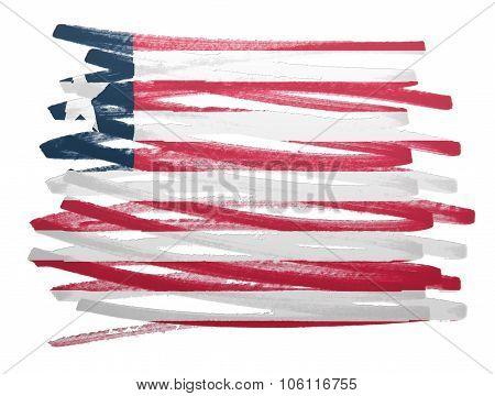 Flag Illustration - Liberia