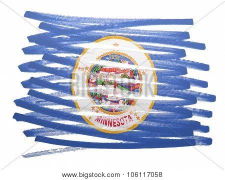 Flag Illustration - Minnesota