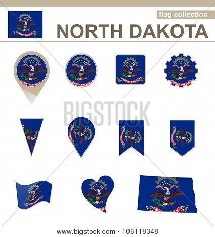 North Dakota Flag Collection