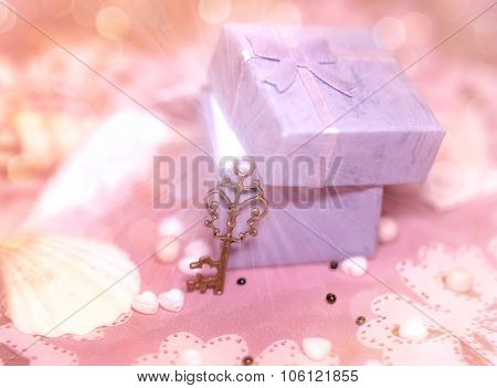 Magic gift box