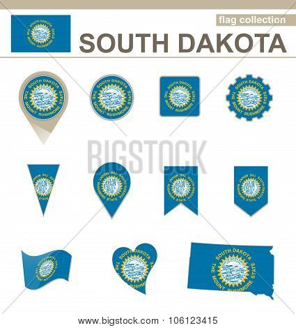 South Dakota Flag Collection