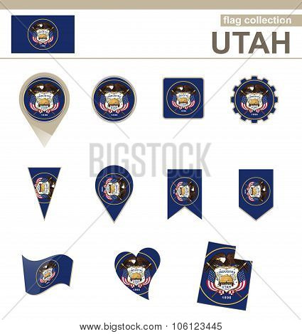 Utah Flag Collection