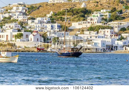 Chora Port, Mykonos, Greece