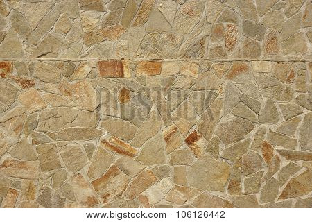 Shiny Flagstone Mosaic Tiled Texture