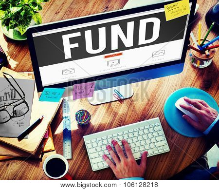 Fund Funding Donation Investment Budget Capital Concept
