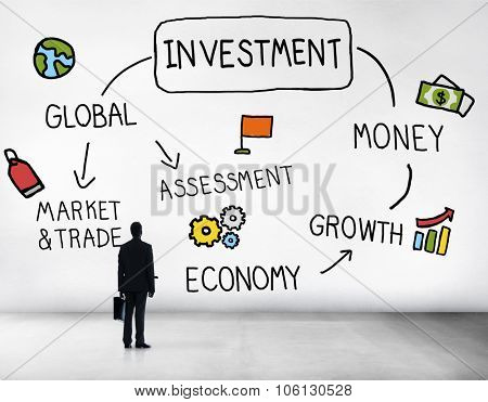 Investment Money Assessment Economy Market Trade Concept
