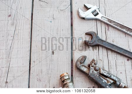 Wrenches , Tools Plumbing