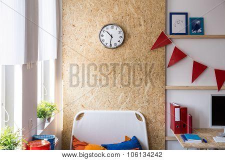 Sterling Board In Teenager's Room