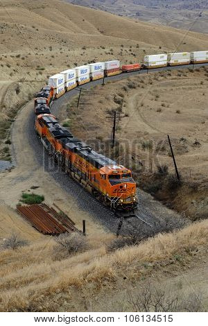 Freight Train, Sierra Nevada Range