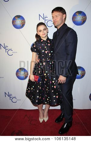 LOS ANGELES - OCT 24:  Joey King, Scott Haze at the