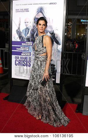 LOS ANGELES - OCT 26:  Sandra Bullock at the
