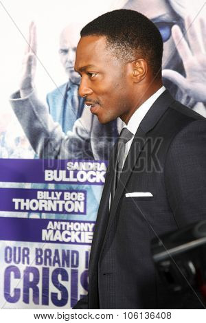 LOS ANGELES - OCT 26:  Anthony Mackie at the