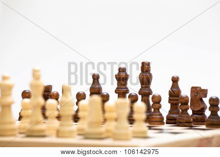 The Beginning Of A Chess Game