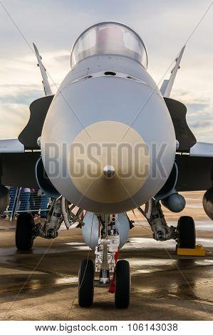 Fighter Plane Front Part Detail