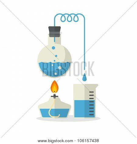 Chemistry Illustration