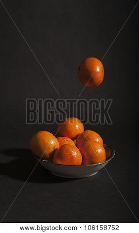 Tossing Oranges