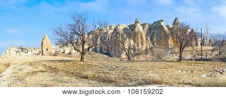 Panorama Of The Rocks